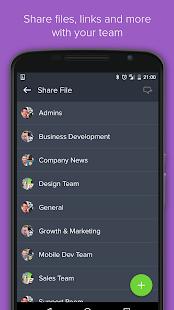 Teamwork Chat - náhled