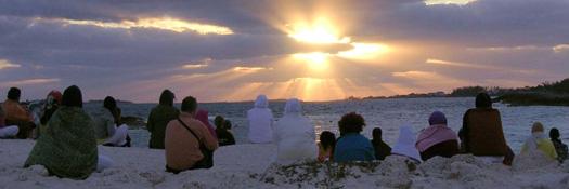 Photo: Meditation at the beach