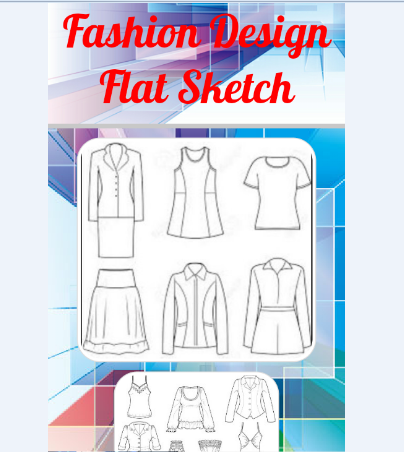 Download Fashion Design Flat Sketch For Pc