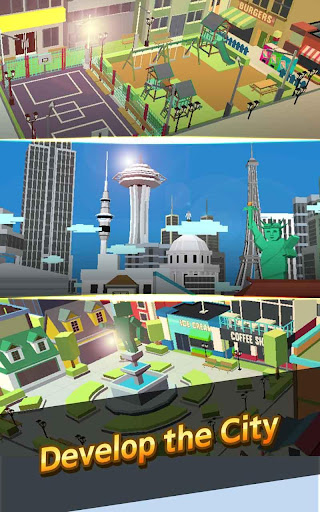 City Growing-Touch in the City( Clicker Games ) screenshot 9