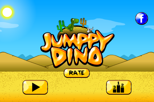 Jumppy Dino- screenshot