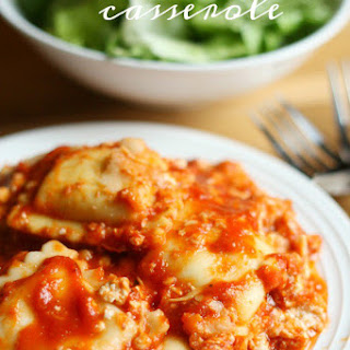 Ravioli Casserole {FREEZER MEAL} Recipe