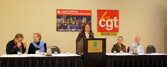 Photo: Allies Panel, Advancing the Campaign for Healthcare for All.