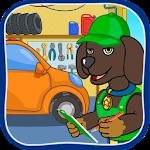 Puppy Patrol: Car Service Icon
