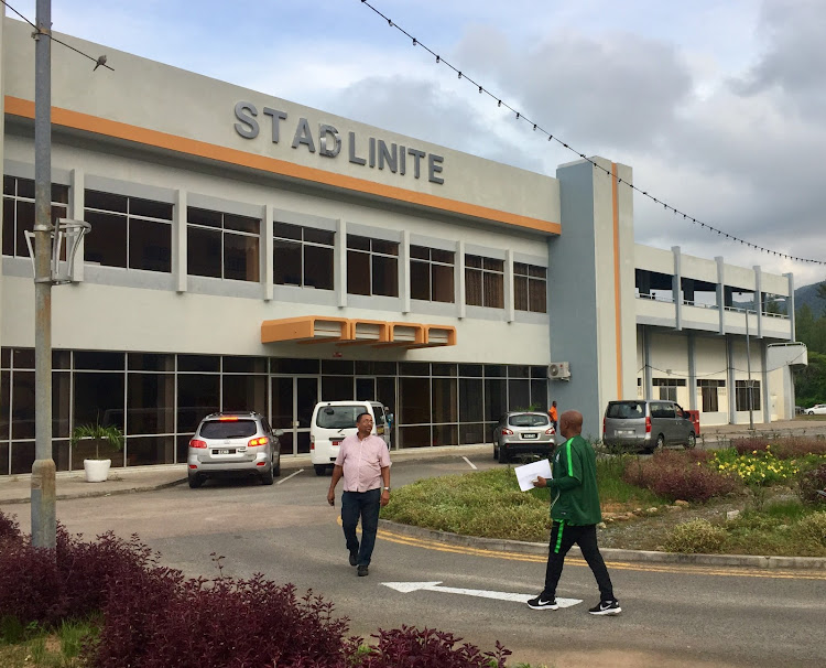 A general view outside the Stade Linite in Victoria, Seychelles, where Bafana Bafana will take on Seychelles on Tuesday on October 16, 2018.