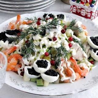 """Salad """"Sea Fantasy"""""""