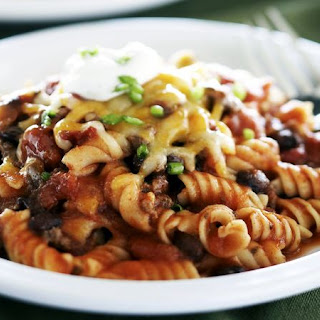 Skinny Mexican Ground Beef and Noodles.