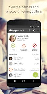 Whitepages Caller ID & Block- screenshot thumbnail