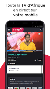 Sanga TV - TV d'Afrique en direct & Programme TV Capture d'écran
