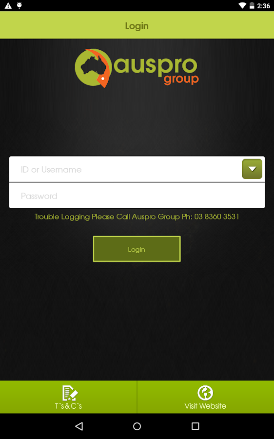 auspro group- screenshot