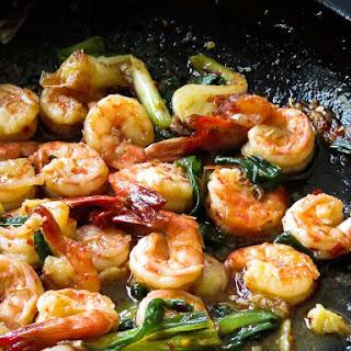 Caramelized Garlic Prawn Stir-fry(20 Minutes,healthy)..