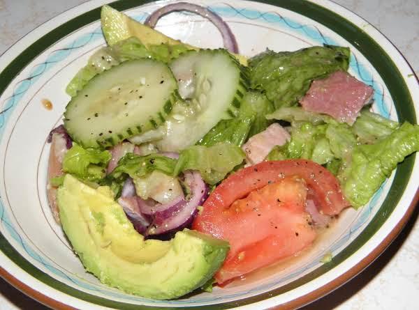 Left Over Easter Ham Salad
