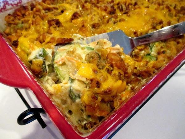 ~ Zucchini Casserole Bake ~ Recipe