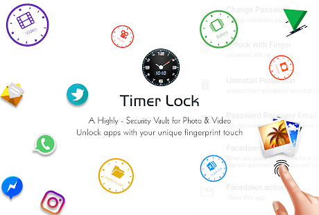 Timer Lock - Photo Video Hide Screenshot
