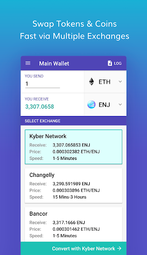 Enjin Crypto Wallet - Ethereum Bitcoin ERC20 ETH 1.3.6-r app download 2