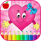 Valentines Game Coloring Book icon