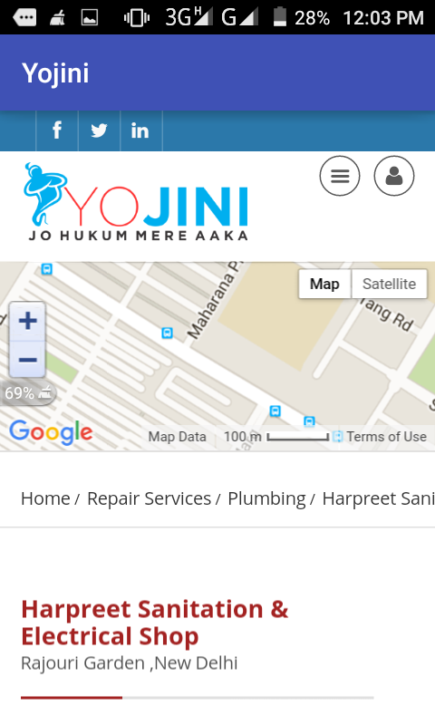 YOJINI.COM- screenshot