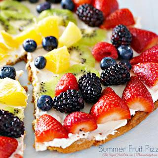 Summer Fruit Pizza!