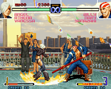 guide for king of fighter 2002 - náhled