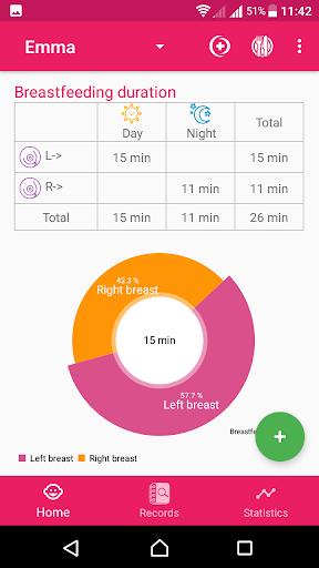 BabyAppy: breastfeeding, sleep and diapers tracker 1.37 Screenshots 7