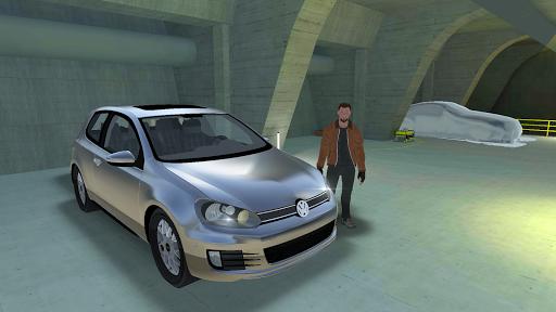 Golf Drift Simulator  captures d'écran 1