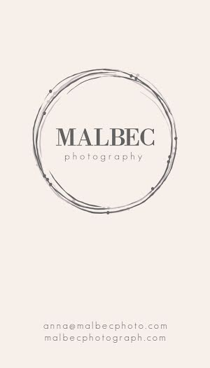 Malbec Photography - Business Card Template