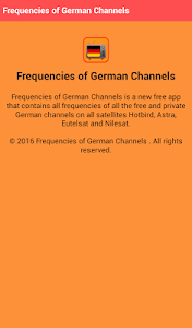 Frequencies of German Channels screenshot 7