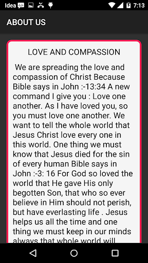 Love and Compassion of Christ  screenshots 5