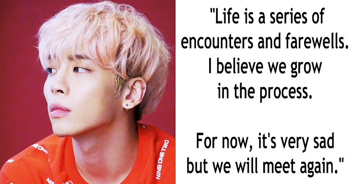 10 Inspiring And Moving Quotes By SHINee Jonghyun - Koreaboo