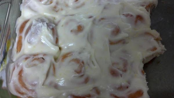 Lemon Sticky Rolls Recipe