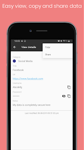 Personal Vault PRO – Password Manager Paid Mod 3