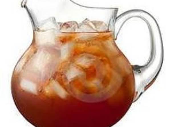 Cold Brewed Iced Tea