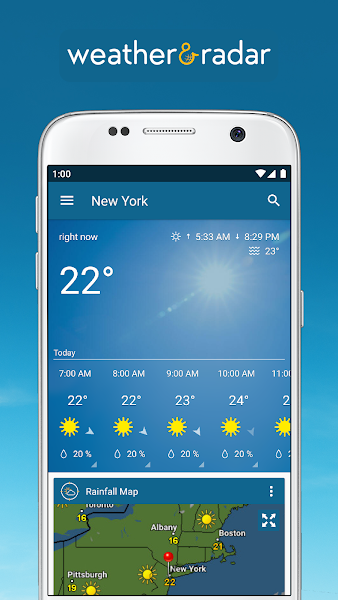 Weather & Radar Pro - Ad-Free Screenshot Image