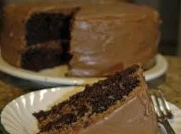 Vegan Chocolate Cake With Vegan Cream Cheese Icing