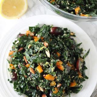 Kale and Quinoa Salad with Lemon Vinaigrette Recipe