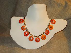 Photo: <BEREHYNYA> {Great Goddess Protectress} unique one-of-a-kind statement jewellery by Luba Bilash ART & ADORNMENT  SAMSARA ~ САМСАРА Bone, brass, 14K gold vermeil SOLD/ПРОДАНА