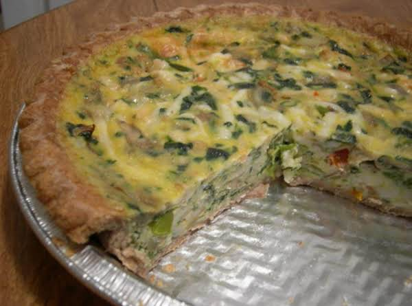 Rachel Ray's Basic Quiche Recipe