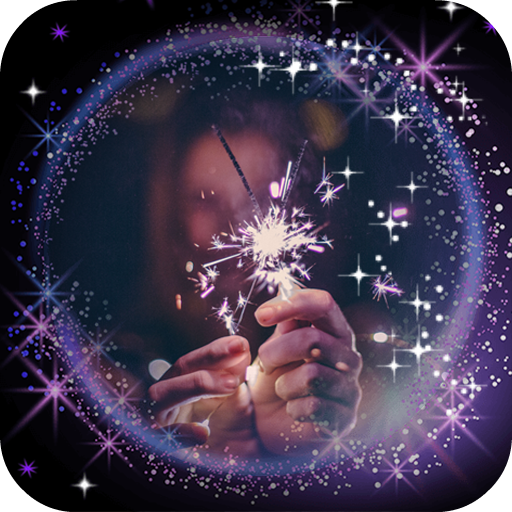 Sparkle Photo Frames: Glitter Effects Editor Icon