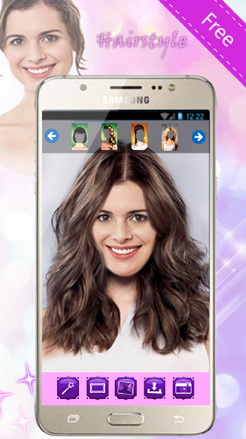 Incredible Hairstyles Change Hair Color Android Apps On Google Play Short Hairstyles Gunalazisus