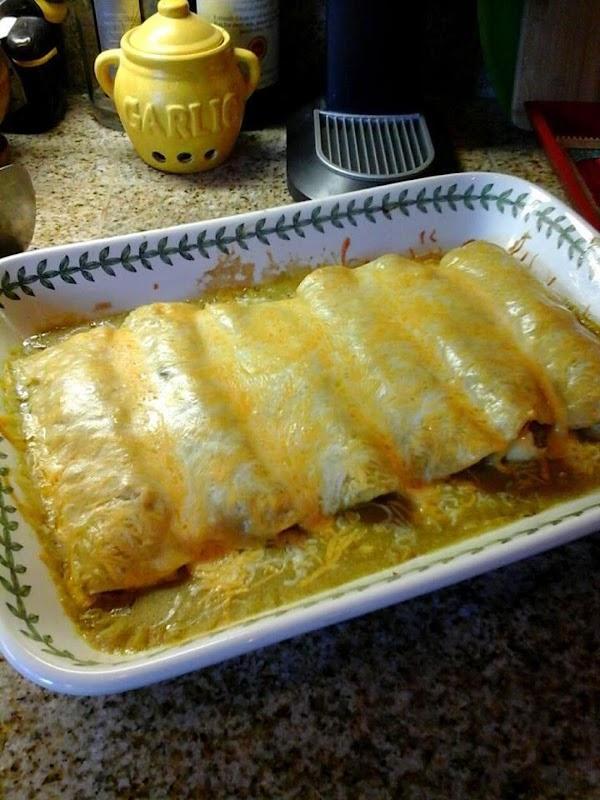Seafood Enchiladas In Orange Cream Recipe