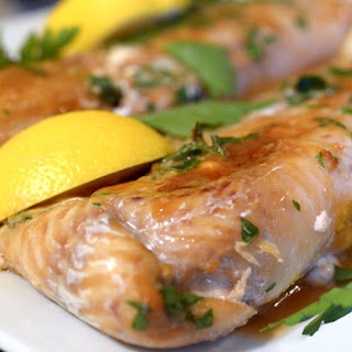 Oven Baked Lemon and Ginger Haddock.