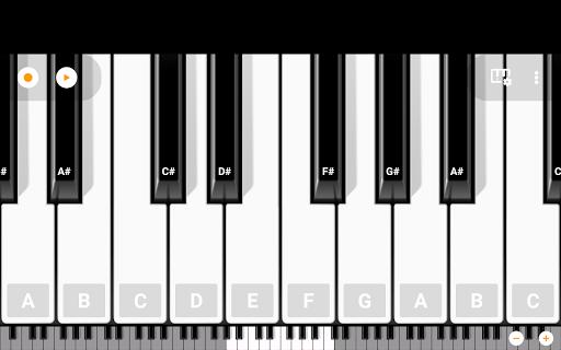 Mini Piano Lite 4.5.5 screenshots 20