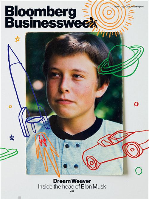 Elon Musk as a child