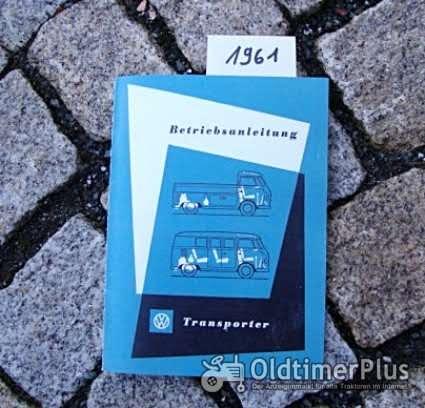 Betriebsanleitung VW Transporter Bus 1961 T1 Foto 1