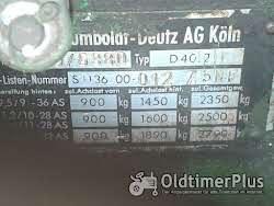 Deutz D40 Foto 10