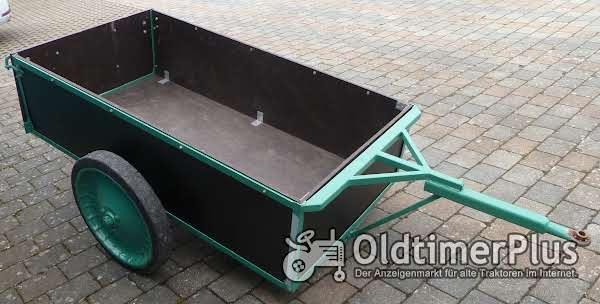 Anhänger Traktor Kleintraktor restauriert Foto 1