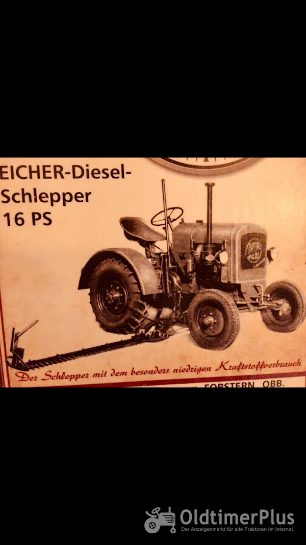 Eicher ED16 Platthauber 1949 Foto 1