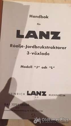 Lanz Bulldog Betriebsanleitung für 20 und 25 PS Bulldog Foto 2