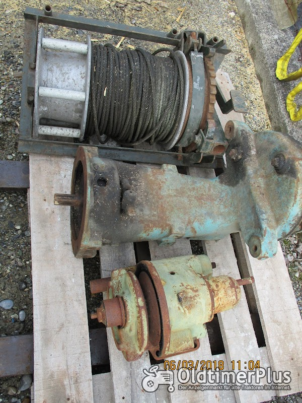 Raspe Mähwerkgetriebe Foto 1