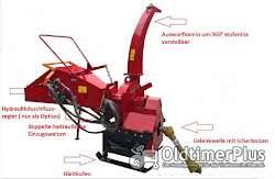 Holzhäcksler mit eigener Hydraulikversorgung - keine Schlepperhydraulik erforderlich! AgrimeXX WC 8 H